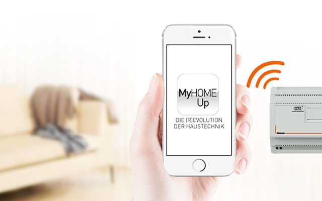 MyHOME / MyHOME_Up bei Mühlhans Elektrotechnik GmbH in Marktleuthen